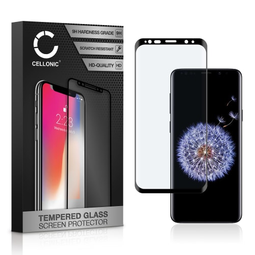 Panzerglas Samsung Galaxy S9 Plus (SM-G965) (3D Full Cover, 9H, 0,33mm, Full Glue) Displayschutz Tempered Glass