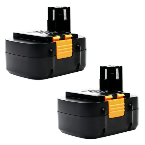 2x Battery 15.6V, 3Ah, NiMH for Panasonic EY3795 / EY6432 / EY3530 / EY6535 - EY9230, EY9231 replacement battery