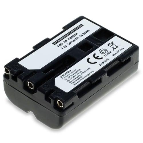 Accu voor Sony SLT-A58 SLT-A77 SLT-A65 SLT-A57 ILCA-77M2 SLT-A99 DSLR-A200 - NP-FM500H (1400mAh) vervangende accu