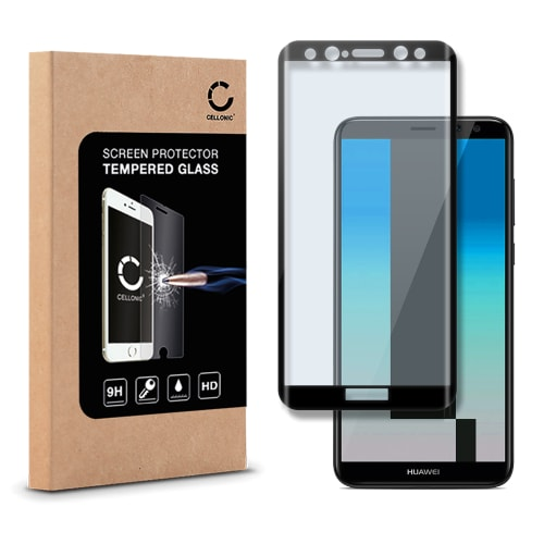wholesale dealer 4650a 1d999 Screen protector glass for Huawei Mate 10 Lite - Tempered Glass (HD-Quality  / 3D Full Cover / 0,33mm / 9H)