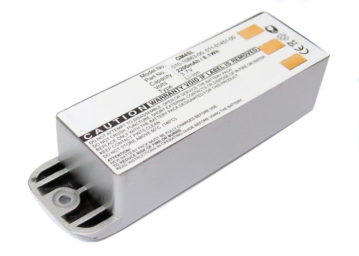 Battery for Garmin zumo 400 zumo 450 zumo 500 zumo 500 Deluxe zumo 550 (2200mAh)