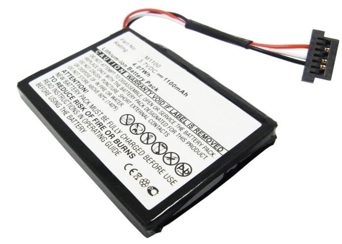 Batterie pour Medion GoPal E4230 GoPal E4240 GoPal E4245 (1100mAh)