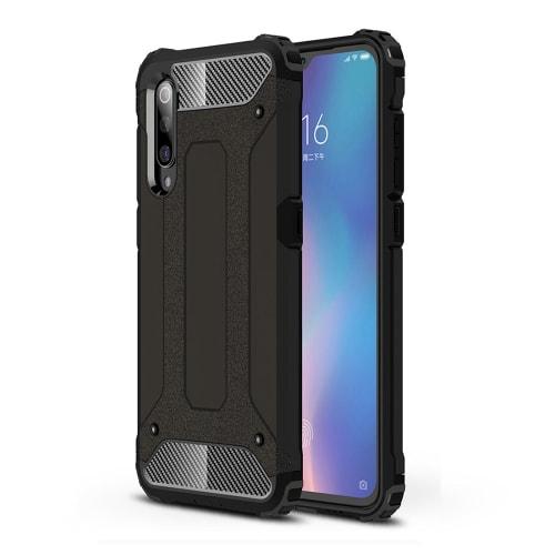 Etui pour Xiaomi Mi 9 - Plastique, noir Etui,Housse, Coque, Pochette