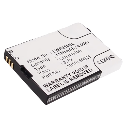 Batterie pour Locktec WP04, WP04 Wireless - 1010150001 (1100mAh) Batterie de remplacement
