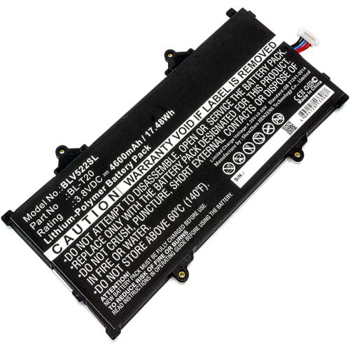 Battery for LG G Pad X 8 0 (V520 / V521 / V522) - BL-T20 (4600mAh)  Replacement battery