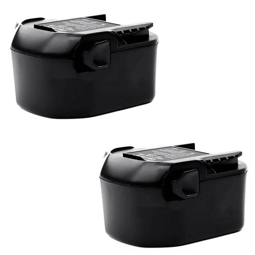 2x Batterie 14.4V, 3Ah, NiMH pour AEG BBM 14 STX-R / BS 14 X-R / BSB 14 STX-R / BS 14G - B1414G, B1420R batterie de remplacement