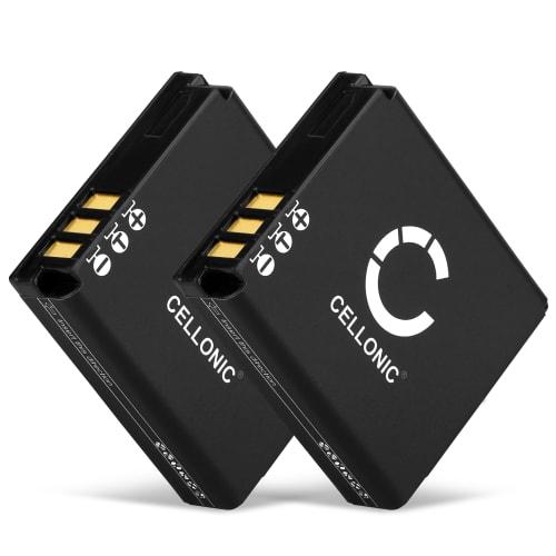 2x Batterie pour Ricoh GR Digital Ricoh GX200 R5 R4 R3 GR Digital I R30 R40 G600 - DB-60 DB-65 1150mAh , Batterie de remplacement