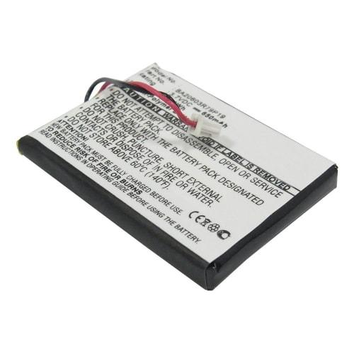 Batterie pour Creative Zen V, Creative Zen V Plus (650mAh) Creative BA20603R79919