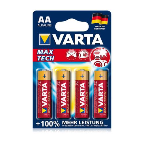 Batterien AA Varta Max Tech Varta 4706 4x LR6, LR06