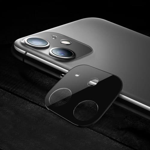 Vetro protettivo fotocamera Apple iPhone 11 (Pellicola protettiva , 9H, 0,33mm, Full Glue) Pellicola vetro temperato
