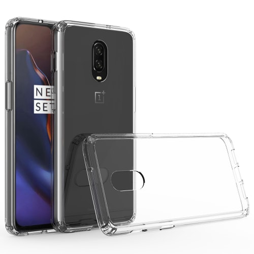 Backcover for OnePlus 6T - Silicone, Crystal Clear Case