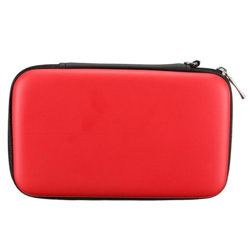 Tasje voor Nintendo 3DS / 3DS XL / New 2DS XL / New 3DS XL - Plastic, rood Tasje Zakje Hoesje