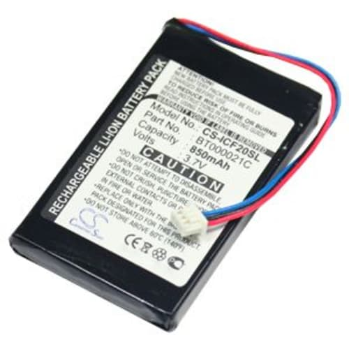 Battery for Navman F20 F20 Europe F30 F40 F40 Europe F50 - (850mAh) Replacement battery