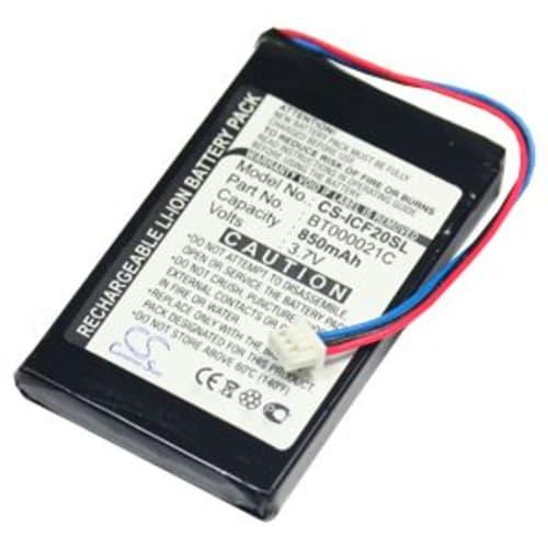 Batterie pour Navman F20 F20 Europe F30 F40 F40 Europe F50 - (850mAh) Batterie de remplacement