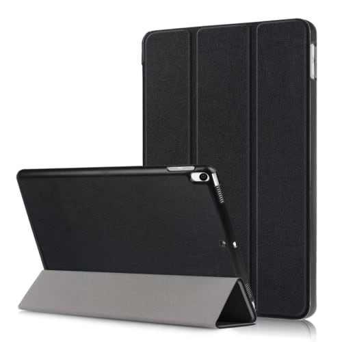 Smart case för Apple iPad Air 3 (2019) - konstläder, svart fodral skyddsskal