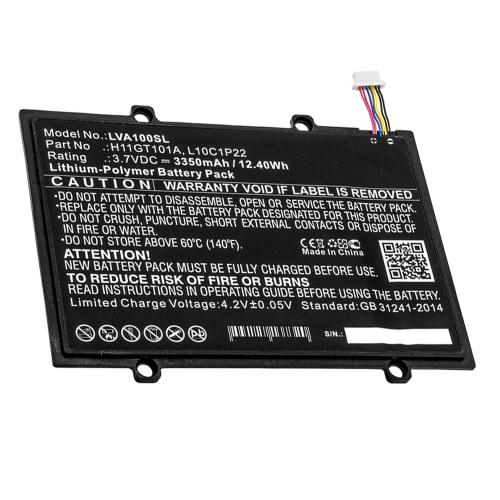 Batteria per Lenovo Ideapad A1, A1-07 - 121500028, H11GT101A, L10C1P22 (3350mAh) batteria di ricambio