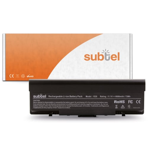 Battery for Dell Inspiron 1520 / 1521 / 1720 / 1721 / Vostro 1500 / 1700 (6600mAh)