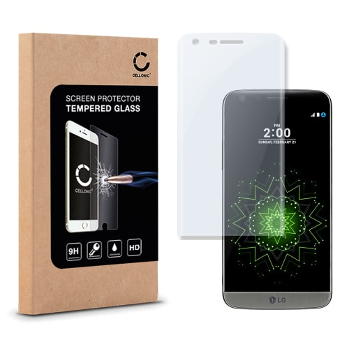 quality design 66136 33675 Screen protector glass for LG G5 / G5 SE - Tempered Glass (HD-Quality / 3D  Full Cover / 0,33mm / 9H)