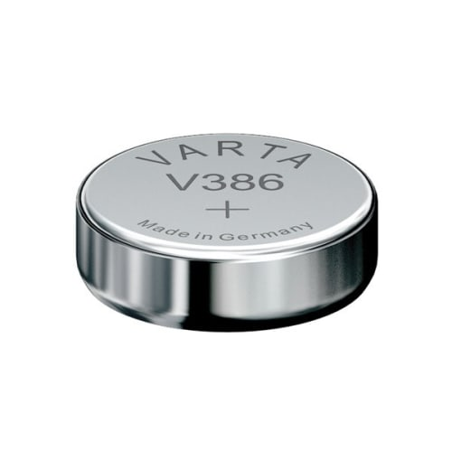 Uhrenbatterie Varta V386 SR43 / SR1142W 386 (x1) Knopfbatterie Knopfzelle Zellenbatterie