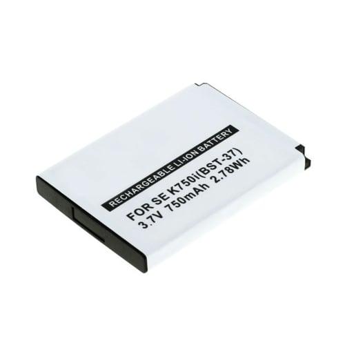 Batteria per Sony Ericsson W810i / W800i / W550i / W350i / K750i / K610i / J110i / V630i / Z520i (750mAh) BST-37