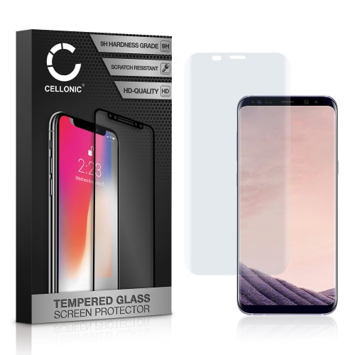 Panzerglas Samsung Galaxy S8 Plus (SM-G955 / SM-G955F) (3D Full Cover, 9H, 0,33mm, Edge Glue) Displayschutz Tempered Glass