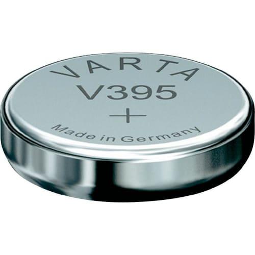 Uhrenbatterie Varta V395 SR57 / SR927SW 395 (x1) Knopfbatterie Knopfzelle Zellenbatterie