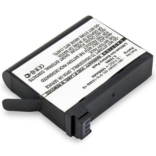 Batterie pour Garmin Virb Ultra Virb Ultra 30 - 010-12389-15,361-00087-00 (1000mAh) Batterie de remplacement