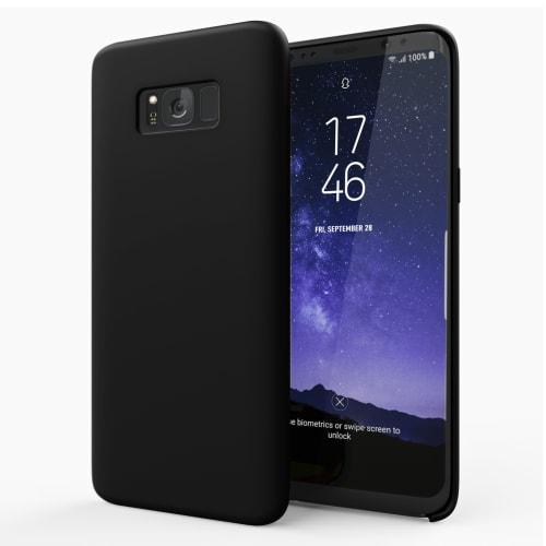 Hoesje voor Samsung Galaxy S8 Plus (SM-G955 / SM-G955F) - Siliconen, zwart Tasje, Zakje, Zak, Hoesje