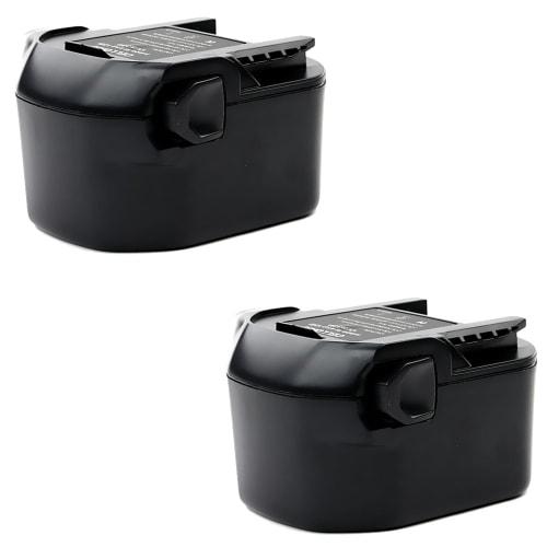 2x Batterie 12V, 3Ah, NiMH pour AEG BBM 12 STX-R / BS 12 X-R / BSB 12 STX-R / BS 12G / BSB 12G - B1214G, B1215R batterie de remplacement