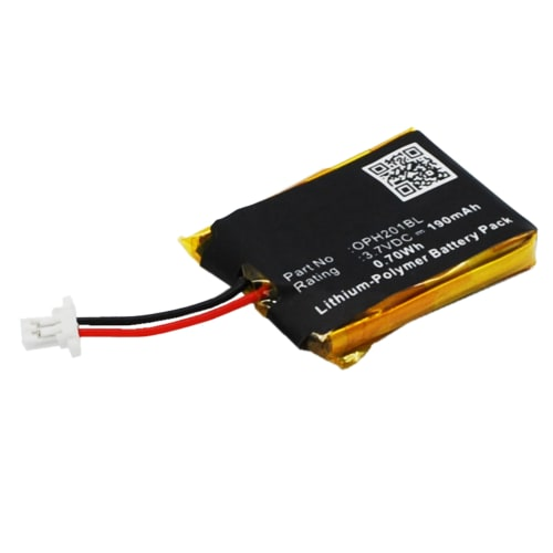 Batterie pour OPTICON OPN-2000 OPN-2001 OPN-2002 OPN-2004 OPN-2005 OPN-2006 - (190mAh) Batterie de remplacement