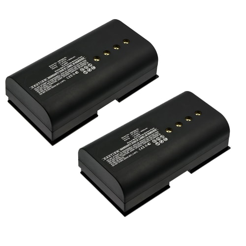 2x Battery for Crestron SmarTouch 1550, 1700, ST-1500C, ST-1700C, STX-1500CW, STX-1700CW - ST-BTPN (4000mAh) Spare Battery Replacement