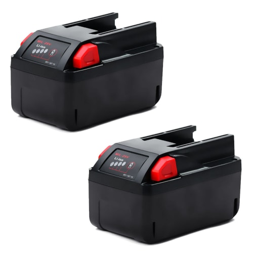 2x Battery 28V, 3Ah, Li-Ion for Milwaukee HD28 CS, HD28 JSB, HD28 PD, M28 CHPX, M28 VC - 48-11-2830,4932352732 replacement battery