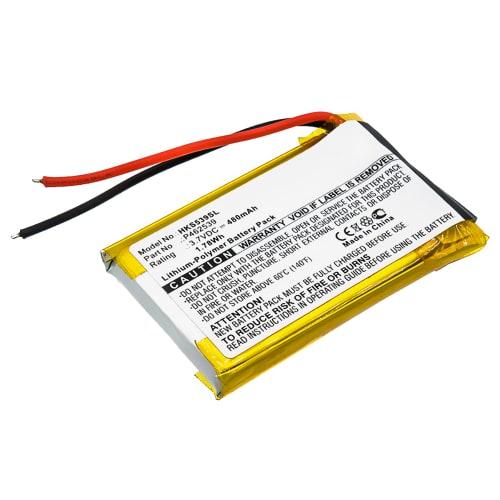 Batterij voor Harman Kardon SOHO - P462539 (480mAh) vervangende accu