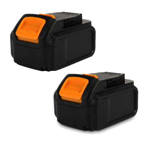 2x Battery 18V, 4Ah, Li-Ion for Dewalt DCD771C2, DCG412N, DCD795D2 - DCB204, DCB203, DCB201, DCB200, DCB183, DCB182 replacement battery