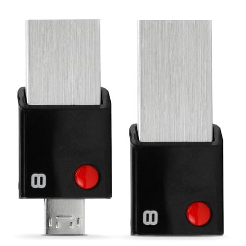 8GB 2in1 Flash Drive OTG USB 3.0 und micro USB