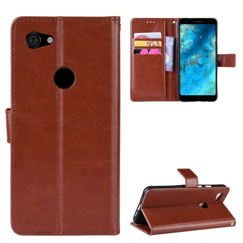 Case for Google Pixel 3a XL - PU Leather, Brown Case