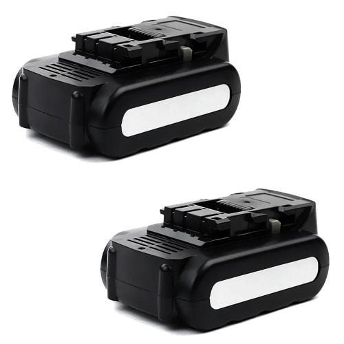 2x Battery 14.4V, 2Ah, Li-Ion for Panasonic EY3641 / EY3640 / EY3740 / EY3741 / EY4541 / EY4542 - EY9L40, EY9L41, EY9L44 replacement battery