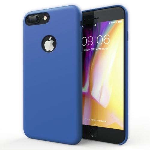 Hoesje voor iPhone 8 Plus / iPhone 7 Plus - Siliconen, donkerblauw Tasje, Zakje, Zak, Hoesje