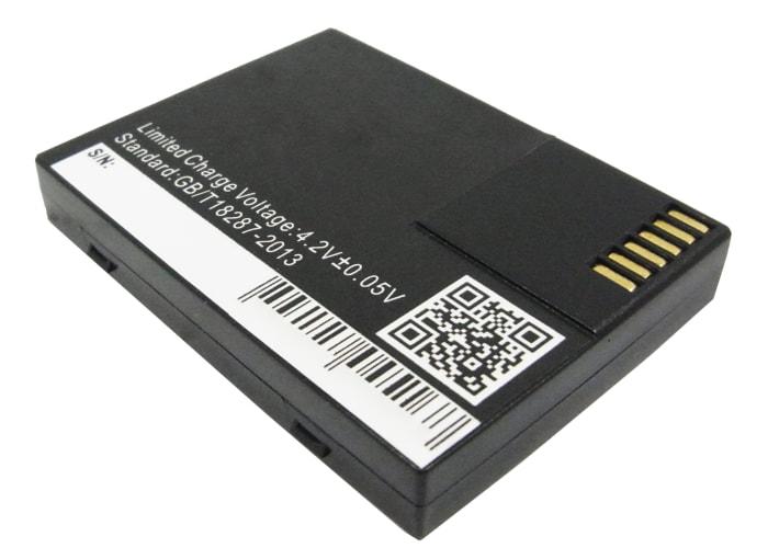 Batterie pour Opticon H-16 H-16A H-16B H-19A H-19A-EN-K01 H-19B H-19D - 019WS000861,019WS000878,02BATLION-09,11812,H16,H19 (900mAh) Batterie de remplacement