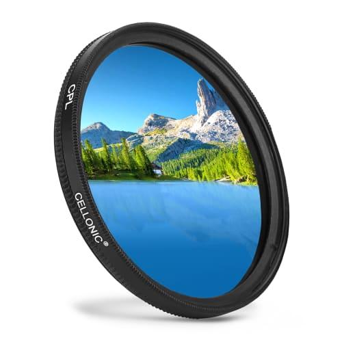 CELLONIC/® Filtro Polarizaci/ón CPL Compatible con Nikon AF-P DX Nikkor 70-300 mm 1:4.5-6.3 5.6 Filtro Polarizaci/ón Circular 300mm f//4.5 Nikon AF-S Nikkor 50mm f//1.4 /Ø 58mm AF-S 50mm 1:1.8G 55