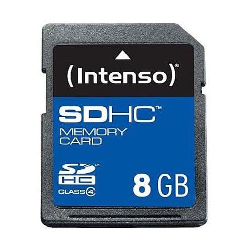 SDHC Speicherkarte 8GB Class 4 von Intenso