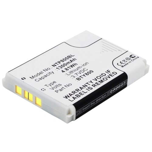 Battery for Cipherlab 8200, Cipherlab 8000, Cipherlab 8300, Cipherlab CPT-8300, Newland NLS-PT 800 - BA-80S1A2, BTY800, BTY801, BTY802 (1300mAh) Replacement battery