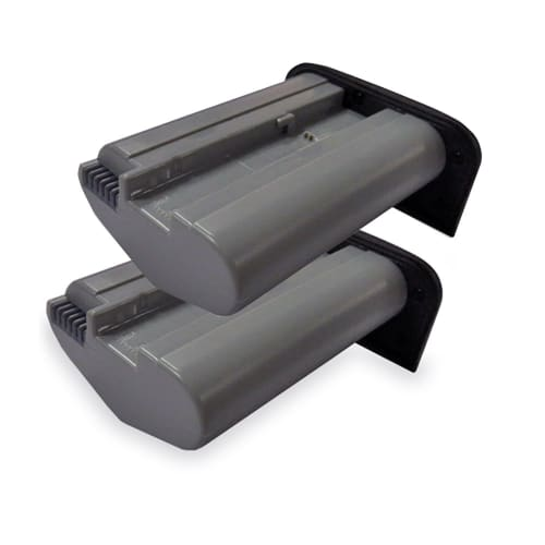 2x Batterie pour Canon EOS 1D Mark III EOS 1D Mark III EOS 1D Mark IV EOS 1D X EOS 1D X Mark II EOS 1Ds Mark III EOS 1Ds Mark III - LP-E19 3350mAh Batterie Remplacement