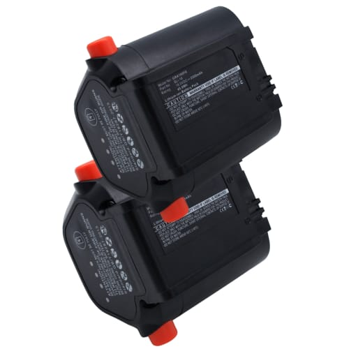 2x Batería 18V, 2500mAh, Li-Ion para Gardena Accu EasyCut Li-18/50, AccuJet Li-18 - 09840-20, BLi-18 Batería Reemplazo
