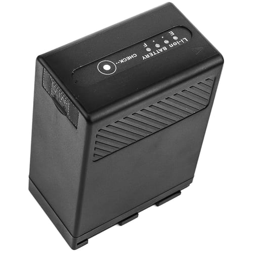 Akku für Canon CA-CP200L EOS C200 EOS C200 PL EOS C200B EOS C300 Mark II EOS C300 Mark II PL XF705 - BP-A60 BP-A65 + USB-Out 2.1A 6800mAh Ersatzakku