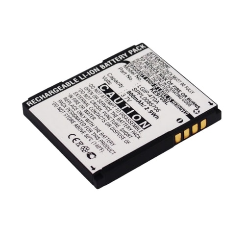 Battery for LG Shine (KE970) / Venus (KF600) / Secret (KF750) / Shine (KU970) (800mAh) LGIP-470A