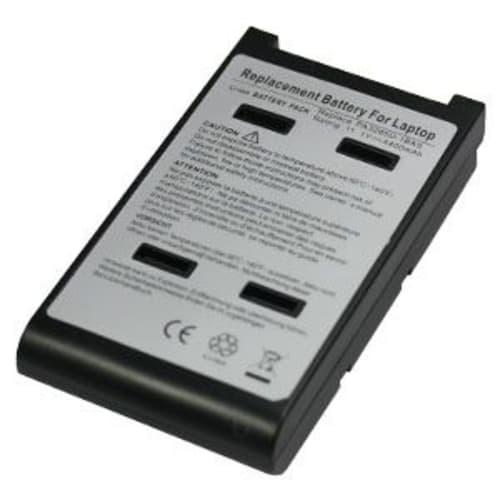 Batterie pour Toshiba Qosmio E10 / E15 / F10 / F15 / F30 / G10 / Tecra A1 / A8 - PA3285U (4400mAh) Batterie de remplacement