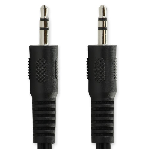 Jack Cable 3,5mm Jack to 3,5mm Jack (1,5m) - Audio adapter (Aux-IN / Line-IN) stereo
