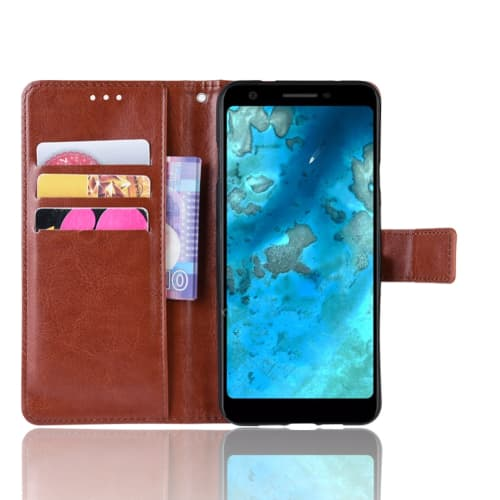 Case for Google Pixel 3a - PU Leather, Brown Case