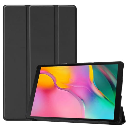 Case for Samsung Galaxy Tab A 10.1 2019 (SM-T510 / SM-T515) - Artificial leather, Black Case